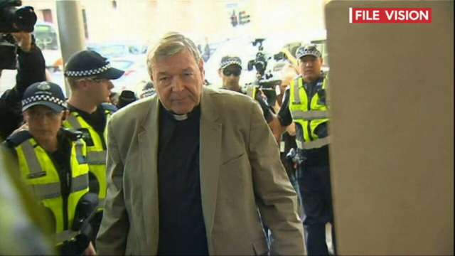George Pell back in Victoria court for trial decision