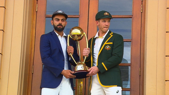 Kohli believes Aussies won't stop sledging