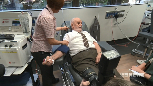 This man's blood has saved 2.4 million babies