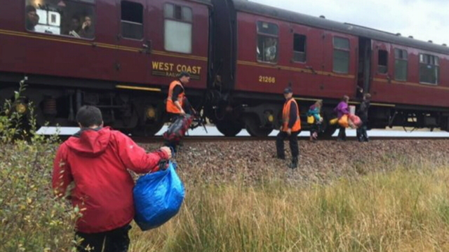'Hogwarts Express' Saves Family Stranded In The Wilderness