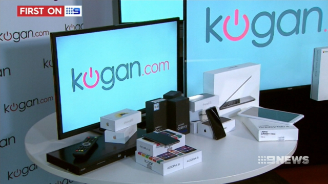 Online electronics retailer Kogan offering special deals