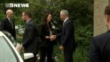 New Zealand PM Jacinda Ardern arrives in Australia