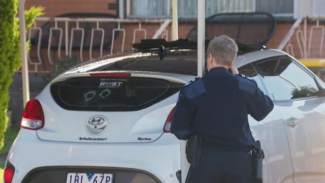 Pregnant teen's car sprayed with bullets