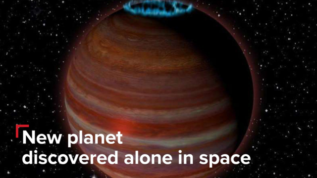 Astronomers discover freakish  rogue planet glowing with auroras