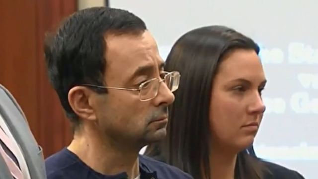 Larry Nassar Sentenced To 40 To 175 Years In Prison