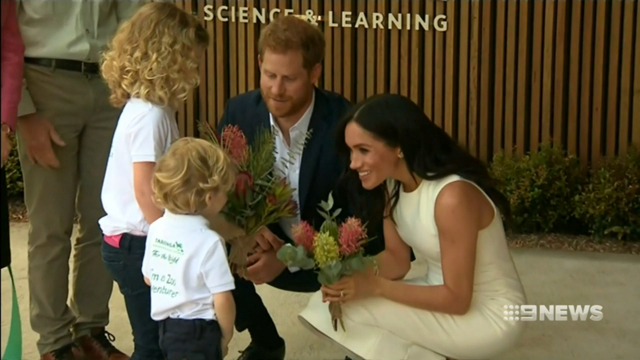Prince Harry gushes about Meghan Markle and their future baby