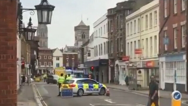 Police Respond To Fresh Incident In Salisbury