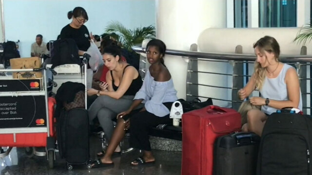 School holidays ruined for Bali sun seekers as flights cancelled