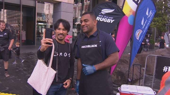 All Blacks rookie Sevu Reece preparing for first home Test with sausage sizzle